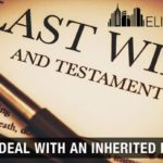 ways to deal with an inherited property