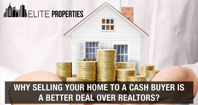 Benefits of selling house to cash buyer over realtor